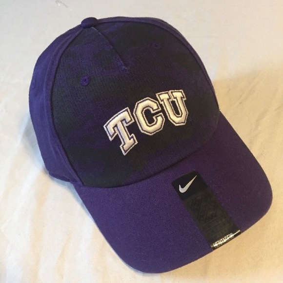 low priced 80086 dd581 NWT Unisex Nike Heritage TCU Horned Frogs Hat